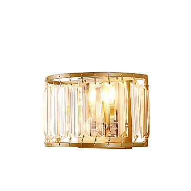 ZHISHU Kryształ / Styl MIni Muślin / Wiejski Lampy ścienne Living Room / Sypialnia / Jadalnia Metal Światło ścienne 110-120V / 220-240V 5W