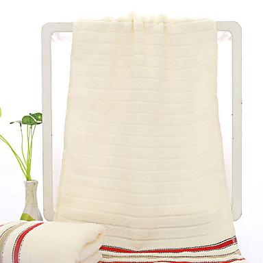 Najwyższa jakość Umyć Ręcznik, Jendolity kolor / Prążki Poly / Cotton 1 pcs