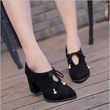 On Cuadrado Claro 06678276 Tacón Mujer y Negro de Amarillo Zapatos Slip Zapatos Confort Caqui bajo taco PU Verano xZ71qvp