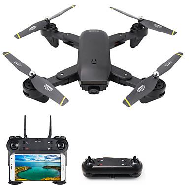 RC Dron DMRC DM107S 4 Kalały Oś 6 2,4G Z kamerą HD 2.0MP 1080P*720P Zdalnie sterowany quadrocopter Lampy LED / Powrót Po  Naciśnięciu Jednego Przycisku / Auto-Startu Zdalnie Sterowany Quadrocopter
