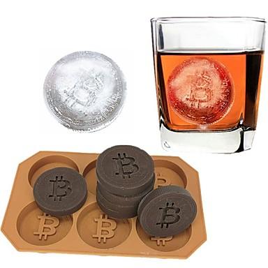 Bitcoin monety silikonowe formy do lodów typu ice cream maker