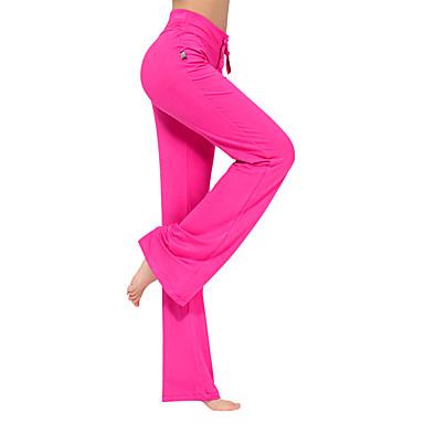 Dame Slengbuksebein Yogabukser - Mørkerød, Mørkegrå, Marineblå sport Mote Bukser Sportsklær Lettvekt, Fort Tørring, Pustende Elastisk