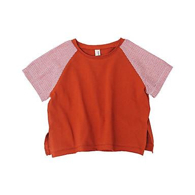 Dzieci Dla chłopców Aktywny Wielokolorowa Krótki rękaw T-shirt
