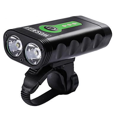 Światła przednie / Przednia lampka rowerowa - Światła rowerowe Kolarstwo Wodoodporny, Przenośny, Regulowany Bateria litowa 2400 lm Kolarstwo / Rower - WOSAWE