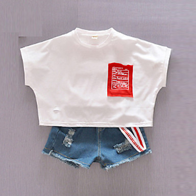 d7293600bb3c Χαμηλού Κόστους Μπλουζάκια για αγόρια-Παιδιά Αγορίστικα   Κοριτσίστικα  Καθημερινά   Αργίες Στάμπα   Συνδυασμός