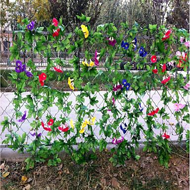 Sztuczne Kwiaty 2 Gałąź Klasyczna Pasterski Styl Dzwonek Kwiaty na ścianę