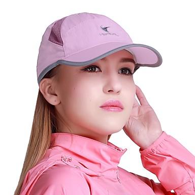 VEPEAL Καπέλο πεζοπορίας Pălării Uscare rapidă Respirabilitate Rezistent la UV Vară Mov Unisex Drumeție Exerciții exterior Mers Plasă Adulți