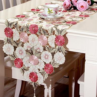 Na co dzień PVC Kwadrat Podkładki Haft Dekoracje stołowe 1 pcs