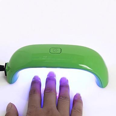 voordelige Nagelgereedschap & Apparatuur-1pc Nail Art Tool Nageldroger en lamp Voor Vingernagel Modieus Design / Lichtgevend / Duurzaam Nagel kunst Manicure pedicure Gepersonaliseerde / Mini Dagelijks