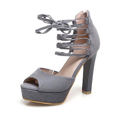 ... Femme Amande Bottine Chaussures Escarpin Demi Nubuck 06700184 ouvert  Botte Eté Sandales Noir Gris Talon Basique ... d79c8b131562