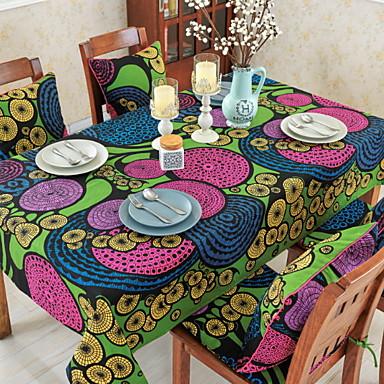 Współczesny PVC / Bawełna Kwadrat Obrusy Geometryczny / Drukowany Dekoracje stołowe 1 pcs