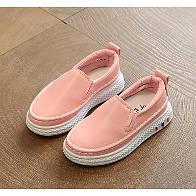 Χαμηλού Κόστους Ξεπούλημα Παπουτσιών-Κοριτσίστικα PU Μοκασίνια & Ευκολόφορετα Νήπιο (9m-4ys) / Τα μικρά παιδιά (4-7ys) / Μεγάλα παιδιά (7 ετών +) Ανατομικό Λευκό / Μαύρο / Ροζ Άνοιξη