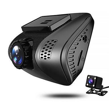 billige Bil-DVR-JUEFAN J3 720p / 1080p Nattsyn Bil DVR 140 grader Bred vinkel 2 tommers Dash Cam med Bevegelsessensor 4 infrarøde LED Bilopptaker / 2.0