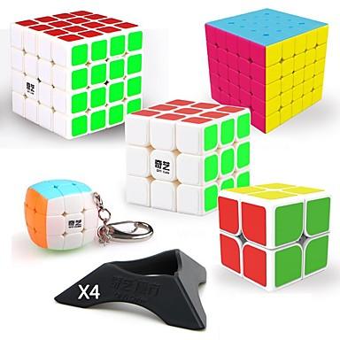 povoljno Igračke i puzzle-9 kom. Magic Cube IQ Cube QIYI QIYI-A Pyramorphix Alien Mini 2*2*2 3*3*3 4*4*4 Glatko Brzina Kocka Magične kocke Male kocka Glatka naljepnica Stručni Razina Gamerske Boy Odrasli Dječji Igračke za