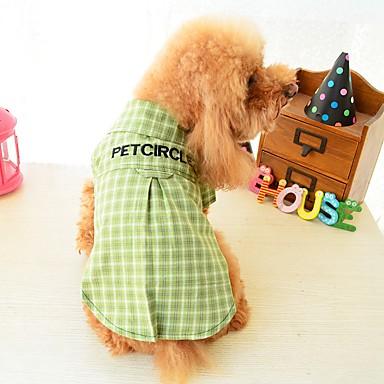 a7fd40675afb Χαμηλού Κόστους Ρούχα για σκύλους-Σκυλιά Γάτες Κατοικίδια T-shirt Ρούχα για  σκύλους Ριγέ