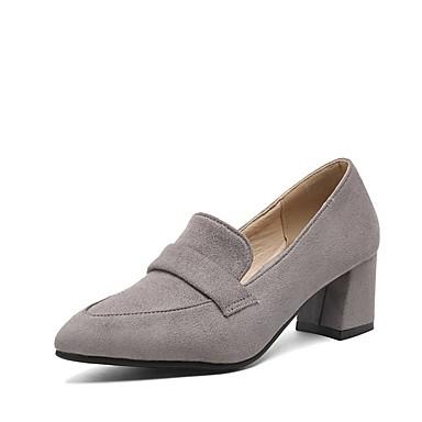 Printemps Chaussures à pointu Noir Basique Chaussures Jaune Similicuir Bottier Femme 06665186 Talons Talon Escarpin Gris Bout xXw1Epqq4