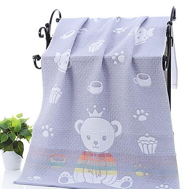 Najwyższa jakość Ręcznik kąpielowy, Prosty / Geometic Poly / Cotton 1 pcs