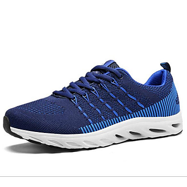 Bărbați Pantofi de confort Pânză Iarnă Adidași de Atletism Alergare Negru / Rosu / Albastru