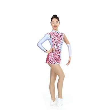 Ritmikus tornadressz   Művészi tornadressz Női   Lány Dressz Rubin Nagy  rugalmasságú Verseny Kézzel készített Leopárd a270c6be4e