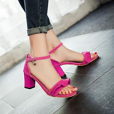 amp; Noeud Violet Fuchsia Bout Femme Eté Bottier Claire Talon Sandales ouvert 06671998 D'Orsay Bleu Pièces Chaussures Similicuir Deux IwC7q