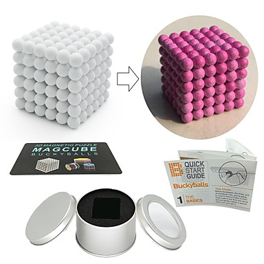 216 pcs Jucării Magnet bile magnetice Jucării Magnet Lego Magnetic Stres și anxietate relief Birouri pentru birou Ameliorează ADD, ADHD, anxietate, autism Noutate Adulți Toate Băieți Fete Jucarii
