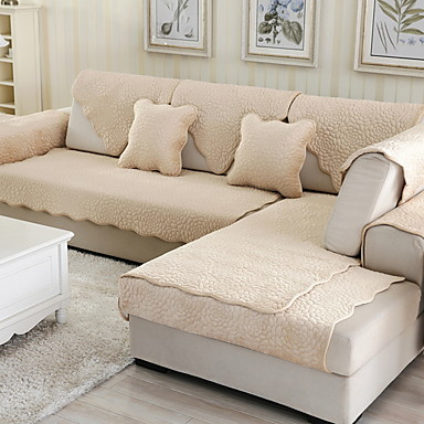 sofa Poduszka Solidne kolory Reactive Drukuj Poliester Slipcovers