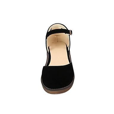 06681442 Salomé Jane Noir Rouge Cuir Nubuck Chaussures Bas Sandales Talon Amande Mary Femme Printemps wKITOySqR