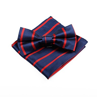 Bărbați Dungi Funde Vintage / Birou Papion Cravată