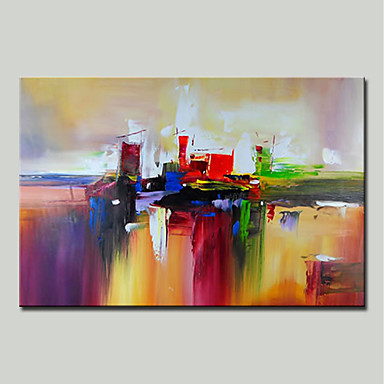 ff25864818f Mintura® Hand Painted Abstract Oil Painting on Canvas Modern Wall Art  Picture for Home Decor Ready To Hang