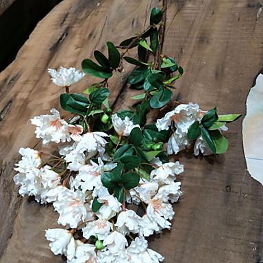 Flori artificiale ramură Clasic Pastoral Stil Florile veșnice Flori Podea
