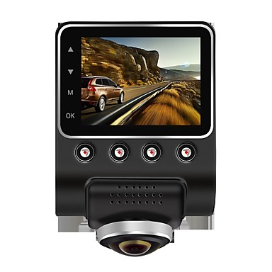 billige Bil-DVR-Anytek A55 1080p Nattsyn / 360 ° overvåking Bil DVR 170 grader Bred vinkel 2.4 tommers IPS Dash Cam med G-Sensor / Parkeringsmodus /