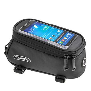 ROSWHEEL Kännykkäkotelo / Pyörän 5.3 inch Kosketusnäyttö, Vedenkestävä Pyöräily varten iPhone 8/7/6S/6 / Sateenkestävä vetoketju