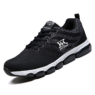 Bărbați Pânză Vară Confortabili Adidași de Atletism Plimbare Negru / Gri / Albastru