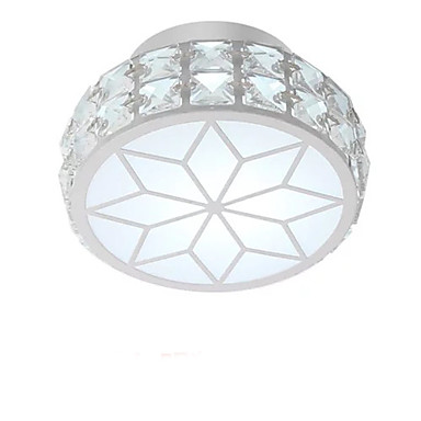 QIHengZhaoMing Montaj Flush Lumini Ambientale Galvanizat Metal Cristal 110-120V / 220-240V Alb Cald / Alb Rece Sursa de lumină LED inclusă / LED Integrat