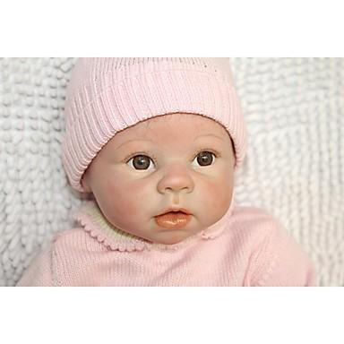 NPKCOLLECTION NPK DOLL בובה מחדש תינוק 24 אִינְטשׁ סיליקון - יָלוּד מתנה בטוח לשימוש ילדים Non Toxic ציפורניים אטומות וחותמות עור טבעי הילד של בנות צעצועים מתנות / עיניים מלאכותיות עיניים חומות
