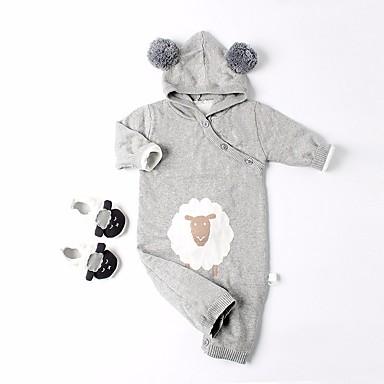 Bebelus Fete Mată / Bloc Culoare Manșon Lung O - piesă