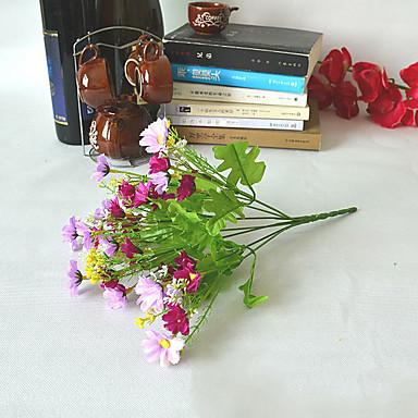 Flori artificiale 1 ramură Clasic Rustic Crizantemă Față de masă flori