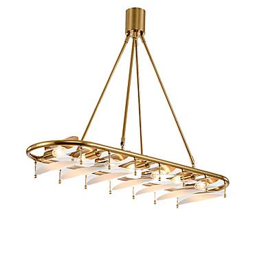 ZHISHU 7-Light Geometric / Mini Candelabre Lumini Ambientale Galvanizat Metal Sticlă Stil Minimalist, Copac 110-120V / 220-240V Becul nu este inclus