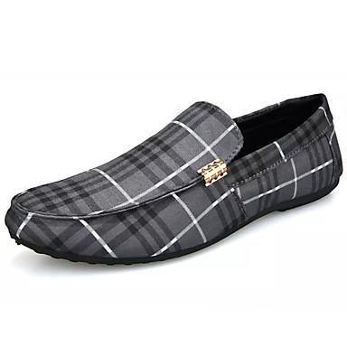 homme mocassins toile et mocassins et chaussons d6148 ray blanc noir gris de 6762103 2019. Black Bedroom Furniture Sets. Home Design Ideas