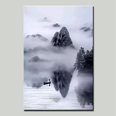 mintura® pictat manual peisaj abstract peisaj de ulei pe panza imagine de arta de perete pentru decoratiuni interioare gata sa atarna