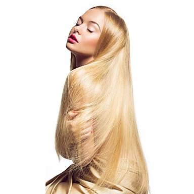 povoljno Perike i ekstenzije-Febay S ljepljivom trakom Proširenja ljudske kose Ravan kroj Ljudska kosa Ekstenzije od ljudske kose Brazilska kosa 1 paket Žene Srednja Auburn