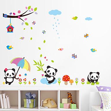 Autocolante de Perete Decorative - Autocolante perete plane / Animal Stickers de perete Animale Sufragerie / Dormitor / Baie