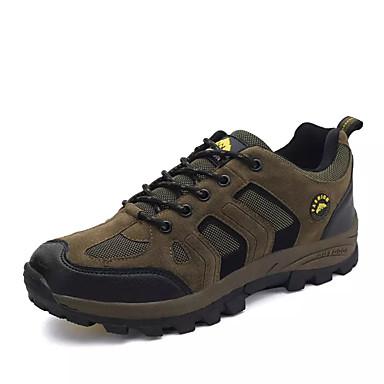 Bărbați PU Primăvara & toamnă Confortabili Adidași de Atletism Drumeții Gri / Maro / Verde Militar
