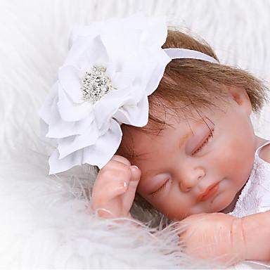 preiswerte Puppen-NPKCOLLECTION NPK-PUPPE Lebensechte Puppe Baby 12 Zoll Ganzkörper Silikon Silikon - Neugeborenes lebensecht Niedlich Umweltfreundlich Kindersicherung Non Toxic Kinder Mädchen Spielzeuge Geschenk