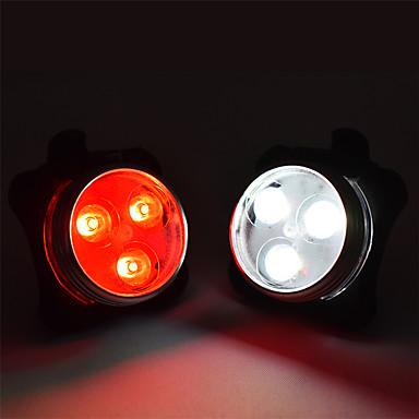 Tylna lampka rowerowa / światła bezpieczeństwa / Tylne światła LED Światła rowerowe Kolarstwo Wodoodporny, Przenośny, Regulowany Litowo-polimerowe 200 lm Wbudowany akumulator litowo-jonowy