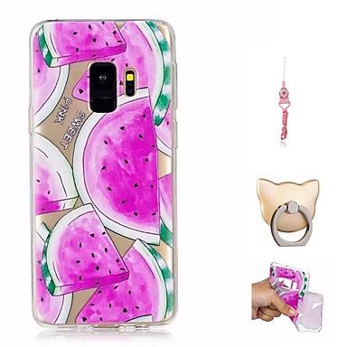 Maska Pentru Samsung Galaxy S9 Plus / S9 Model Capac Spate Fruct Moale TPU pentru S9 / S9 Plus