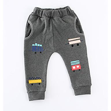 Bambino Da Ragazza Moda Città Fantasia Geometrica Cotone Pantaloni Nero - Bambino (1-4 Anni) #06769169 Ufficiale 2019
