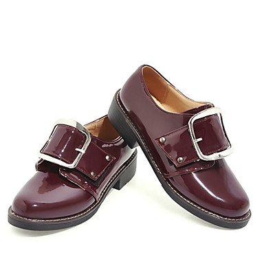 On Dedo Wine Confort redondo Bajo Almendra taco Verano Rosa de bajo Mujer Zapatos PU y 06771194 Zapatos Slip Tacón OwOvSx