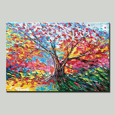 mintura® pictat manual cuțit abstract peisaj ulei peisaj pictura pe pânză modernă imagine de perete pentru decorațiuni interioare gata de agățat