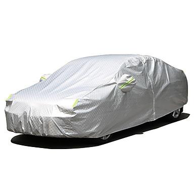 Acoperire Integrală Coperți de autovehicule Îmbrăcăminte Oxford / Film de aluminiu Reflexiv / Bara de avertizare For Mercedes-Benz GLC260